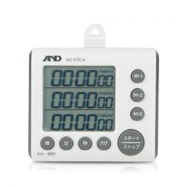 AND AD-5701A นาฬิกาจับเวลา (3 channels Digital Timer)