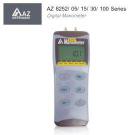 AZ 8252/ 05/ 15/ 30/ 100 Series เครื่องวัดความดันดิจิตอลแบบพกพา