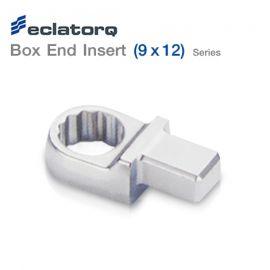 Eclatorq หัวเปลี่ยนประแจวัดแรงบิด Box End Insert | 9x12