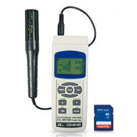 Lutron CO2-9914SD เครื่องวัดคาร์บอนไดออกไซด์ | SD Card