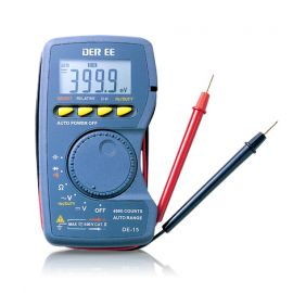 DE-15 Digital Multimeter Pocket type
