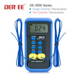 DER EE DE-3000 Series เครื่องวัดอุณหภูมิดิจิตอล (Digital Thermometer)