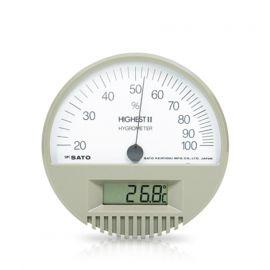 SK Sato HIGHEST II เครื่องวัดอุณหภูมิและความชื้น