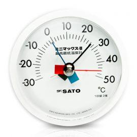 SK Sato MINI-MAX-II ที่วัดอุณหภูมิติดผนัง (-30 to 50°C)