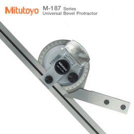 Mitutoyo M-187 Universal Bevel Protractor Series เครื่องวัดมุม