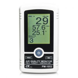 Lutron PM-1053 เครื่องตรวจสอบคุณภาพอากาศ 3in1 | PM2.5