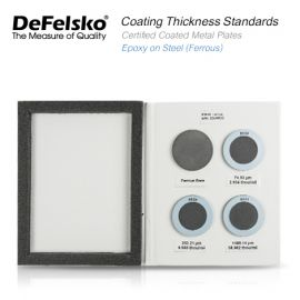 DeFelsko PT-STD-S Series Certified Coated Metal Plates