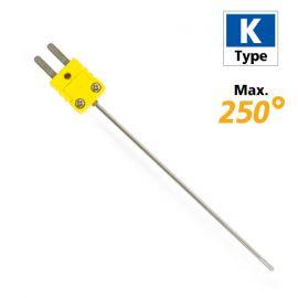 Rixen LK-03 โพรบวัดอุณหภูมิทั่วไป Max.250℃ (Type K)