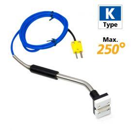 Rixen MK-02EX โพรบวัดอุณหภูมิพื้นผิวแบบแม่เหล็ก Max. 250℃ (Type K)