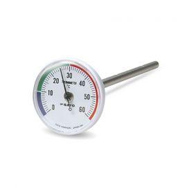 SK Sato SK Sato SK-1408-00 ที่วัดอุณหภูมิดิน (ความยาว 150mm) (Analog thermometer)