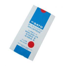SK Sato SK-7238-06 Cartridge Pen (Red) 12 pcs. in a box
