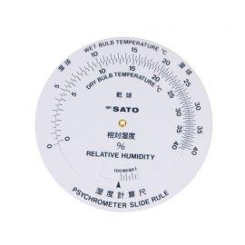 SK Sato SK-7450-80 Humidity Conversion Rule for SK-RHG