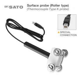 SK Sato SK-S402K โพรบวัดอุณหภูมิพื้นผิวชนิดลูกกลิ้ง (Type K) | Cable Length 1.1 m.