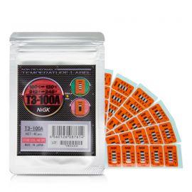 NiGK T3-100A แถบวัดอุณหภูมิ (100 | 110 | 120℃) | 40pcs/ 1pack