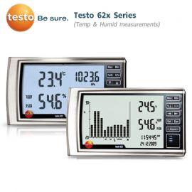 Testo 62x Series เครื่องวัดอุณหภูมิและความชื้น