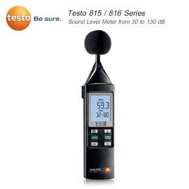 Testo 810 Series เครื่องวัดระดับเสียง (Class 2) (Sound Level meter)