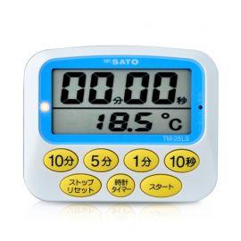 SK Sato TM-25LS นาฬิกาจับเวลาพร้อมแสดงอุณหภูมิ