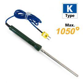 Lutron TP-03 โพรบวัดอุณหภูมิทั่วไป Max.1050℃ (Type K)