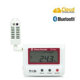 T&D TR-72wb เครื่องบันทึกอุณหภูมิและความชื้น (Cloud Network) | Wifi & Bluetooth