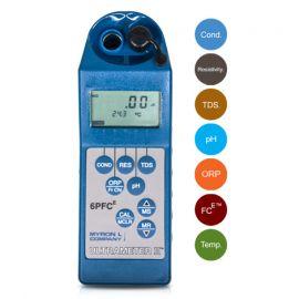 Myron Ultra-6PFCe เครื่องวัดและทดสอบคุณภาพน้ำ 7in1 (Conductivity, TDS, Resistivity, pH, ORP, Free Chlorine, Temp.)