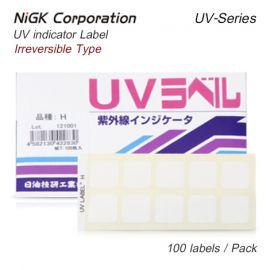 NiGK UV Series แถบแสดงความเข้มข้นแสง UV indicator label | 100pcs/ 1pack
