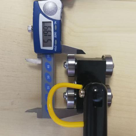 Rixen RSK-02 โพรบวัดอุณหภูมิพื้นผิว Stainless Bearing Wheel Max. 450℃ (Type K)