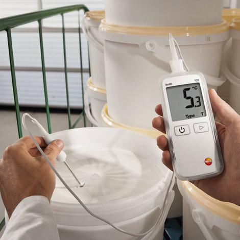 Testo-108 Waterproof Digital Food Thermometer